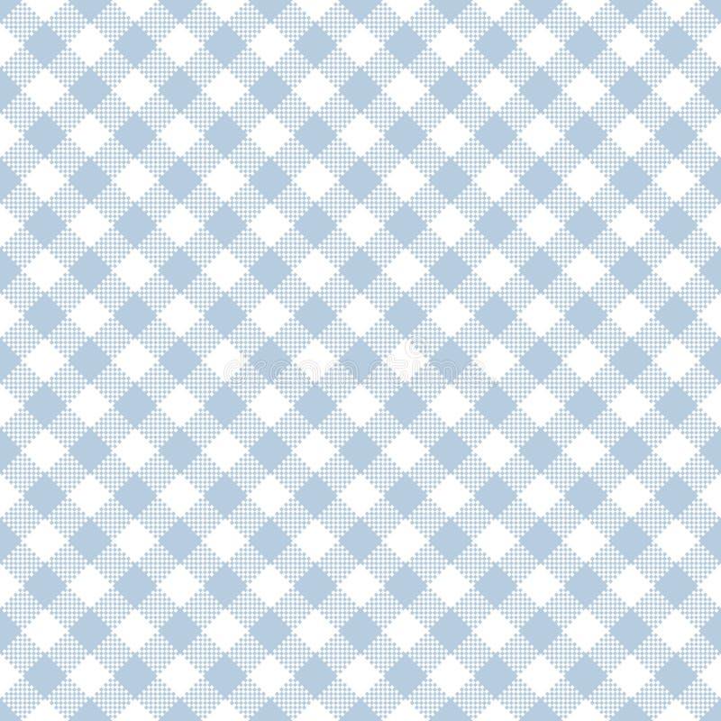 Lichtblauw Gingang Naadloos Patroon vector illustratie