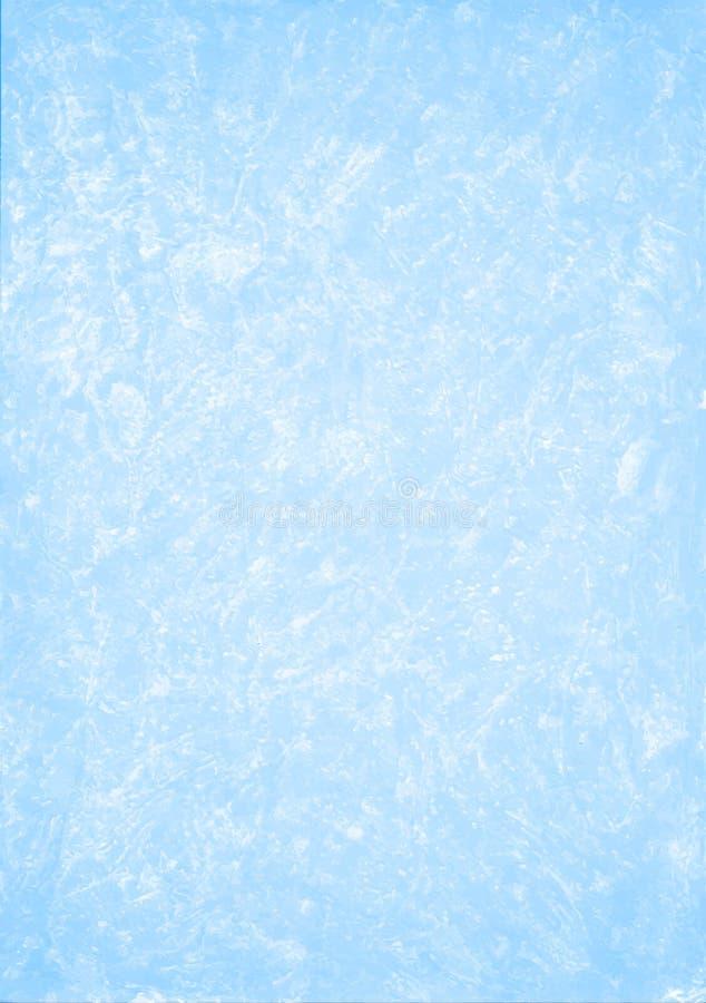 Lichtblauwe luchtige hand getrokken achtergrond stock foto