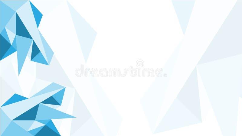 Lichtblauwe vector lage polytextuur Abstracte illustratie met elegant ontwerp Malplaatje voor lay-out, dekking, presentatie of We vector illustratie
