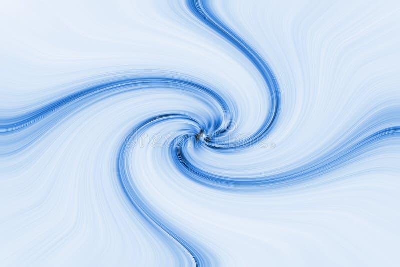 Lichtblauwe wervelingen vector illustratie