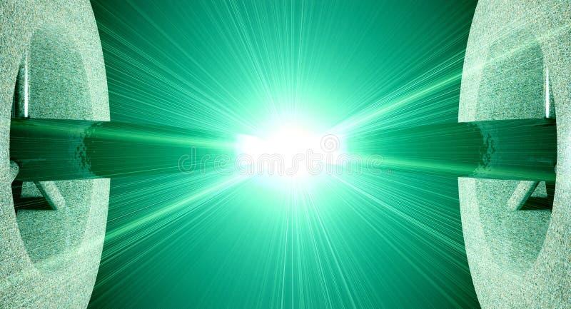 Lichtbogen lizenzfreie abbildung