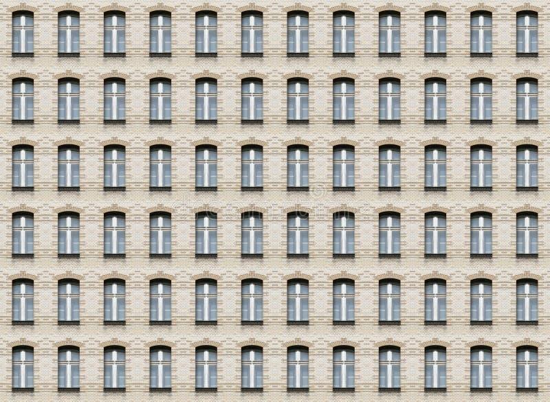 Lichtbogenfenster-Wandbeschaffenheit lizenzfreies stockbild