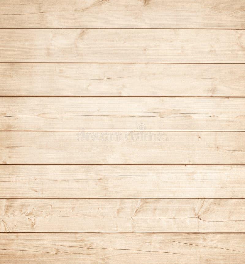 Lichtbruin houten planken, muur, lijst, plafond of vloeroppervlakte Houten Textuur stock afbeelding