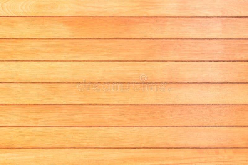 Lichtbruine houten oppervlaktetextuur als achtergrond, de mening van de lijstbovenkant royalty-vrije stock afbeeldingen