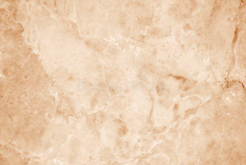 Lichtbruine marmeren textuurachtergrond, de Patronen van het Luxebehang en het Effect van de Achtergrondoppervlakte royalty-vrije stock afbeelding