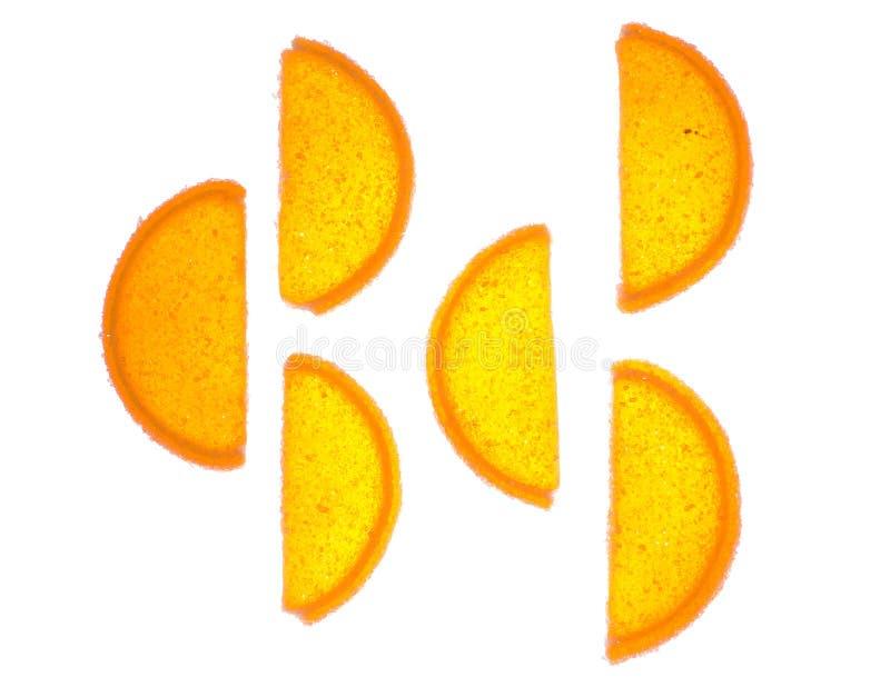 Lichtdurchlässige Fruchtgelees stockfotografie