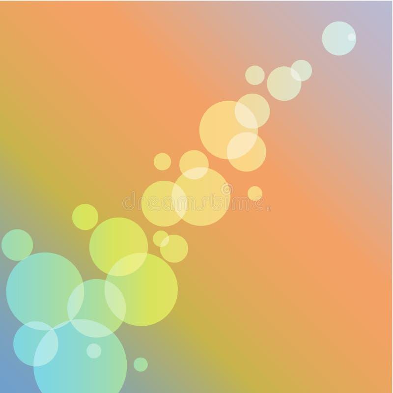 Lichte abstactachtergrond vector illustratie