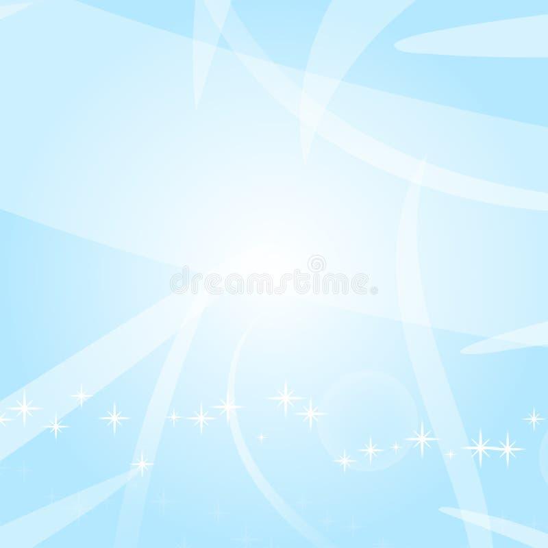 Lichte abstracte achtergrond met cirkels, sterren en lijnen Geschikt voor festivallen en pakketten Vector illustratie stock illustratie