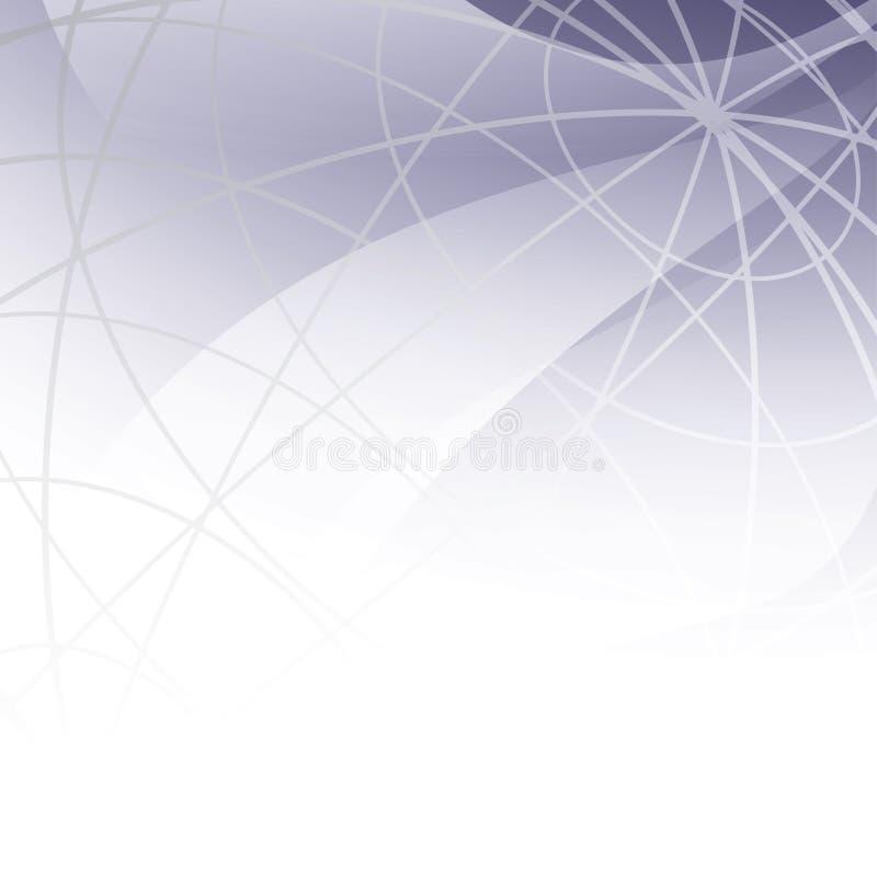 lichte abstracte achtergrond met meridianen - vector stock illustratie