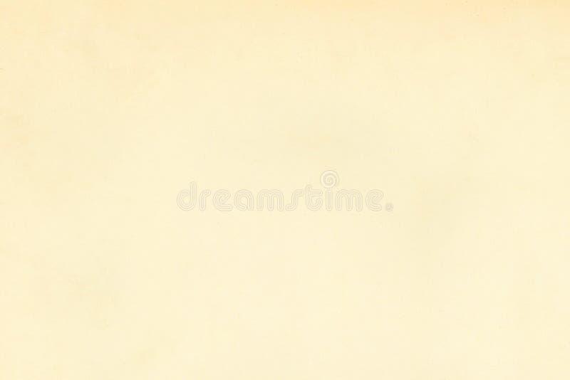 Lichte beige doorstane uitstekende oude roestige document perkamenttextuur royalty-vrije illustratie