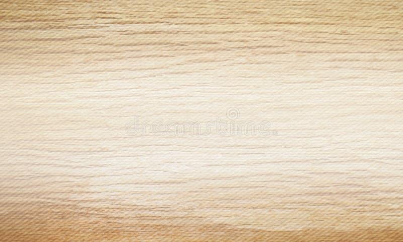 Lichte beige houten textuurachtergrond Het natuurlijke horizontale malplaatje van het patroonmonster Vector illustratie vector illustratie