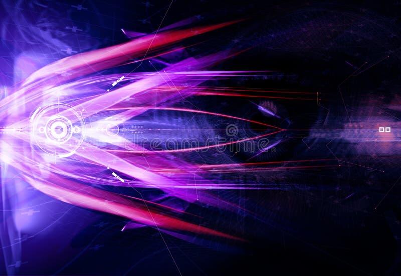 Lichte bezinningen vector illustratie