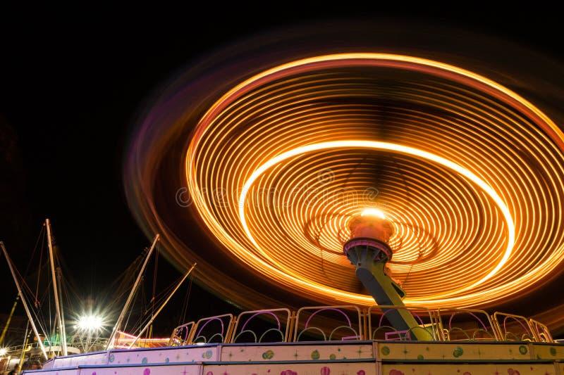 Lichte cirkel royalty-vrije stock foto's