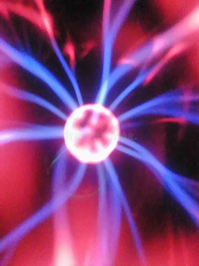Lichte fluorescente het ozontesla van de plasmabal royalty-vrije stock foto