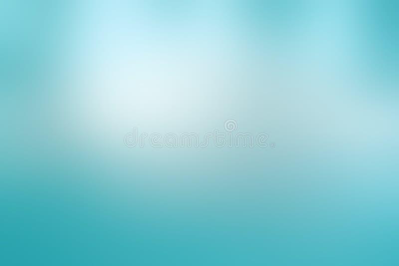 Lichte hemel blauwe achtergrond in van de pastelkleurlente of Pasen kleuren met bewolkte witte vage vlekken in schoon vers ontwer vector illustratie