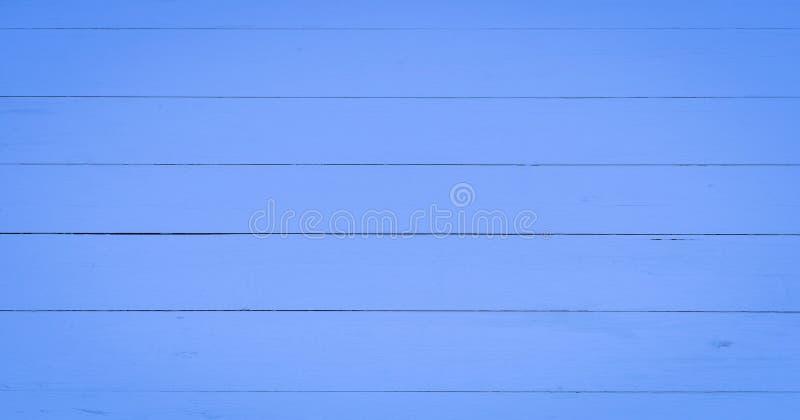 Lichte houten textuurachtergrond, blauwe houten planken De oude gewassen grunge houten, geschilderde houten hoogste mening van he stock fotografie