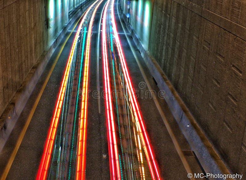Lichte kleurensnelheid royalty-vrije stock foto's
