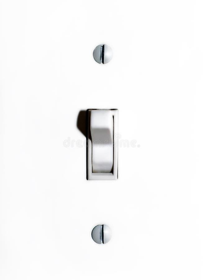 Lichte schakelaar stock afbeelding