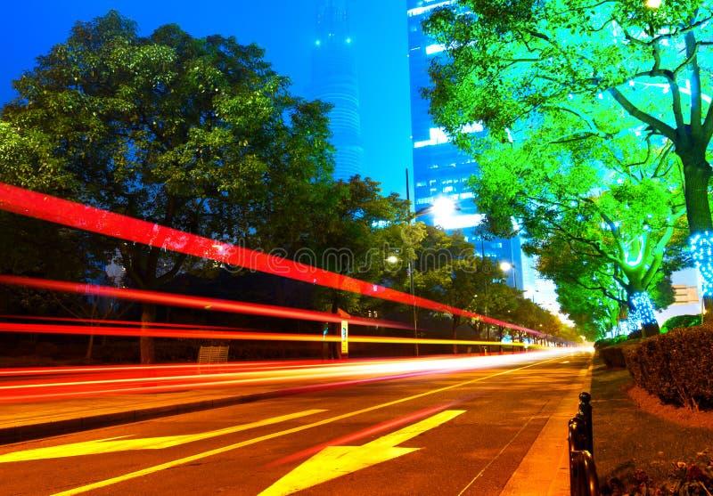 Download Lichte slepen stock afbeelding. Afbeelding bestaande uit verkeer - 29500927