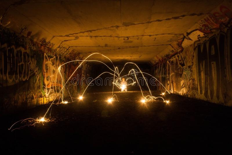 Lichte Spin stock foto