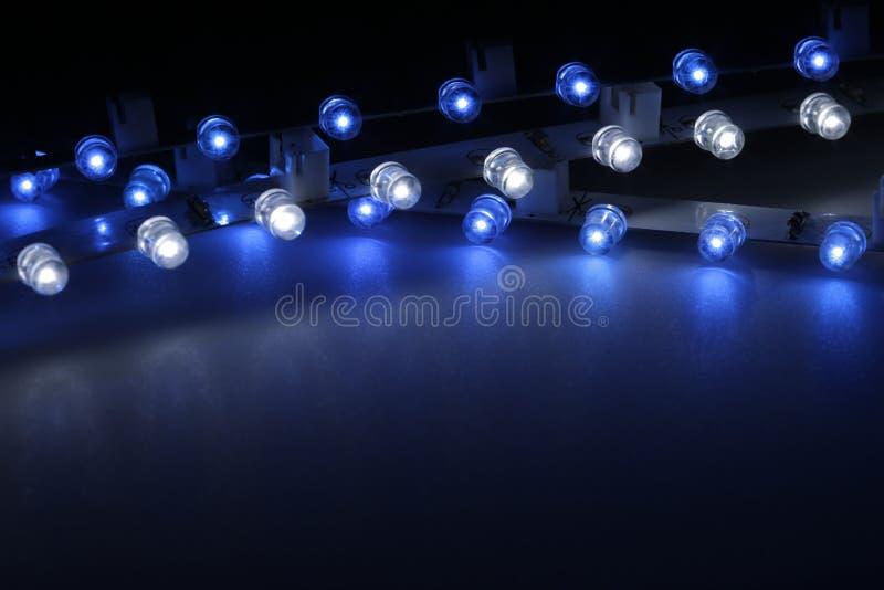 Lichte Staven Royalty-vrije Stock Foto's