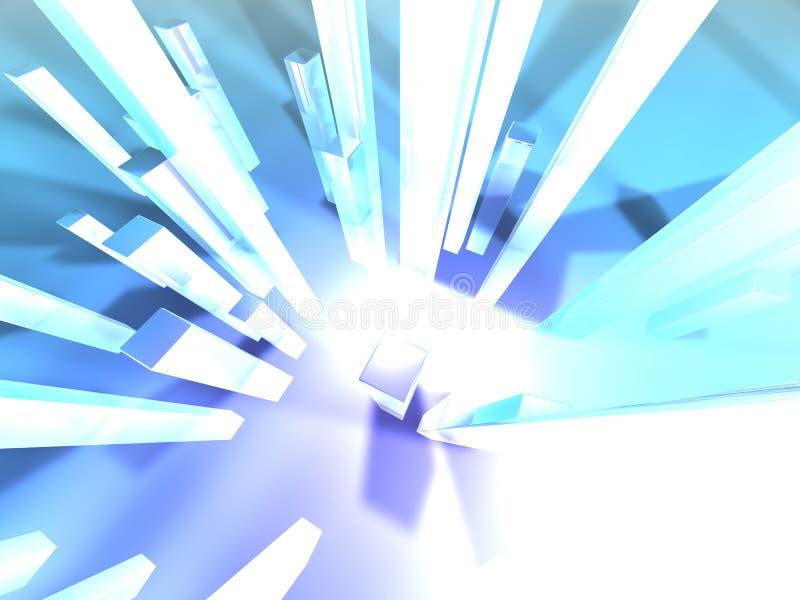 Download Lichte torens 1 stock illustratie. Afbeelding bestaande uit achtergrond - 27647
