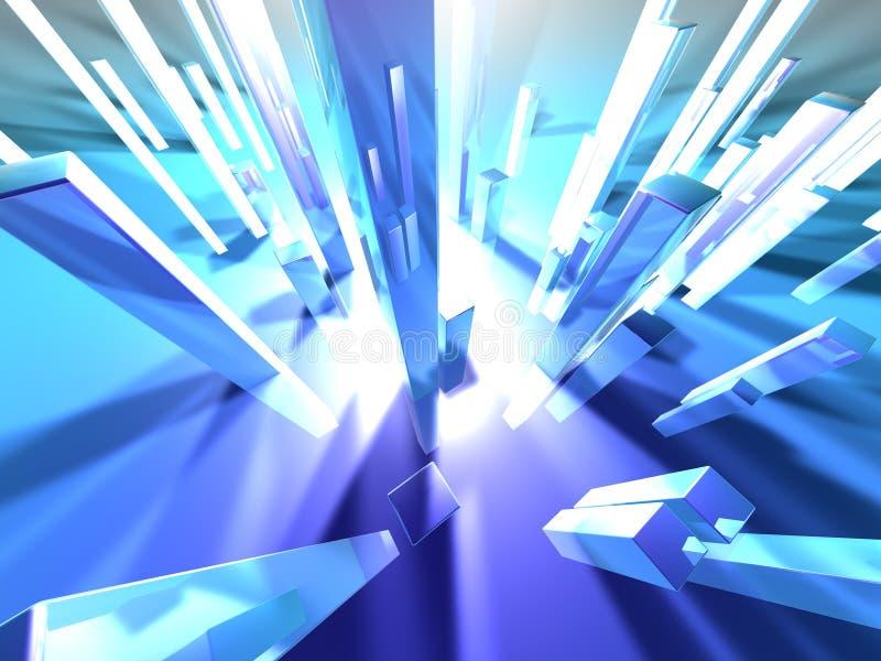 Download Lichte torens 2 stock illustratie. Illustratie bestaande uit perspectief - 27648
