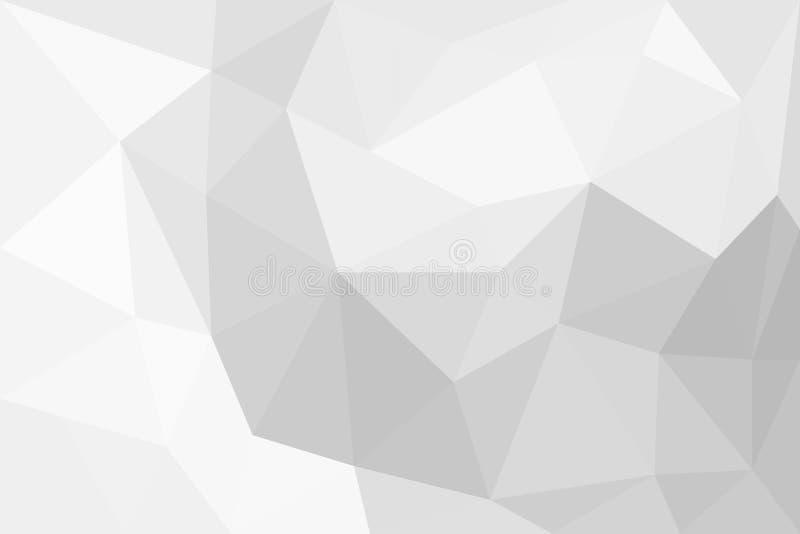 Lichte vectorachtergrond in lage polystijl royalty-vrije illustratie