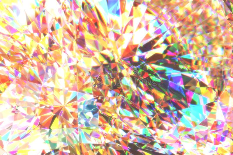 Lichte verspreidingssamenvatting vector illustratie