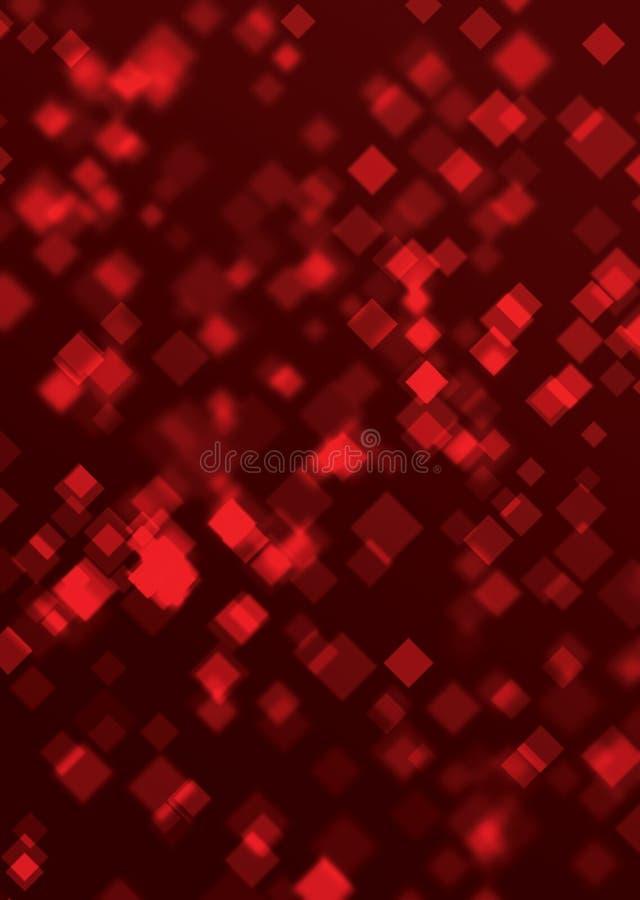 Lichte Vierkanten royalty-vrije illustratie