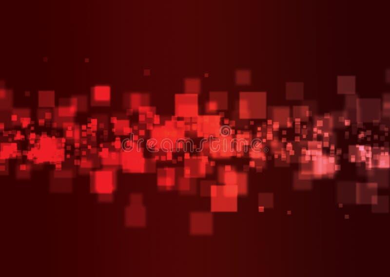 Lichte Vierkanten stock illustratie