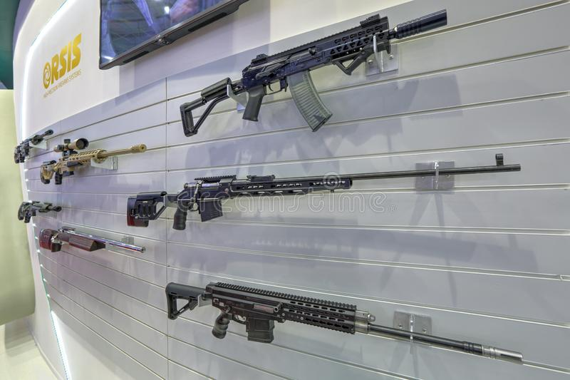 Lichte wapens stock fotografie
