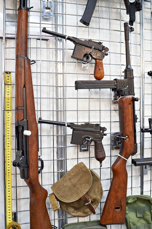 Lichte wapens van de Tweede Wereldoorlog royalty-vrije stock afbeeldingen