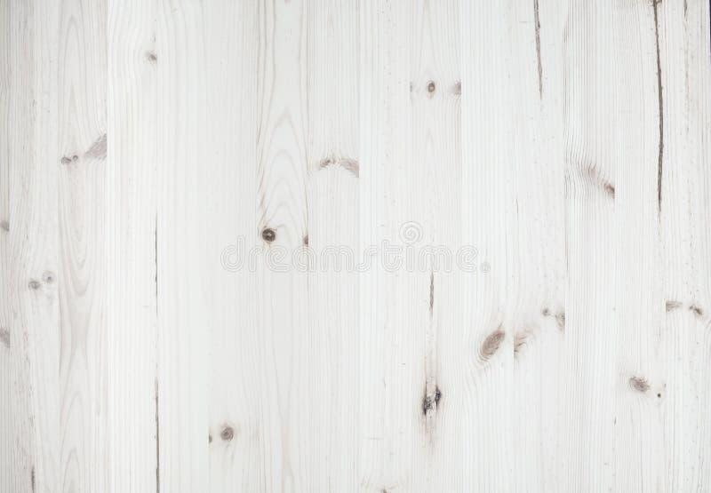 Lichte witte houten pijnboomtextuur en achtergrond stock foto