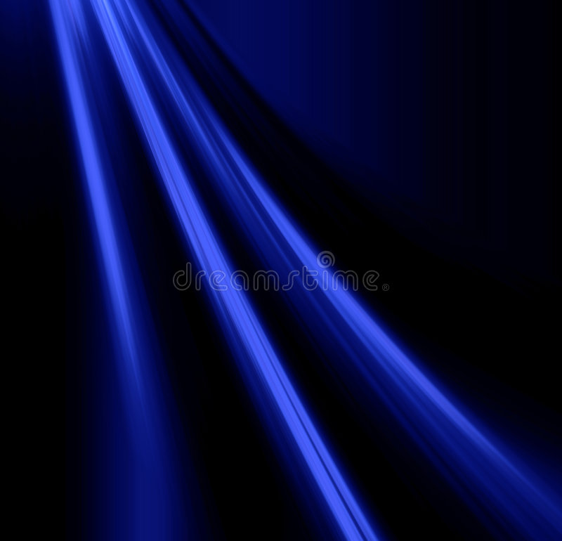 Lichteffect royalty-vrije illustratie