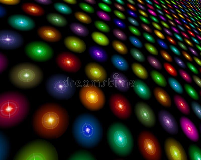 Lichten vector illustratie