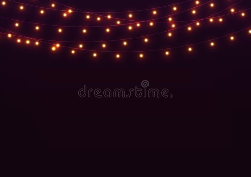 lichten stock illustratie