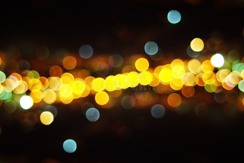 Lichten van de Stad royalty-vrije stock foto's