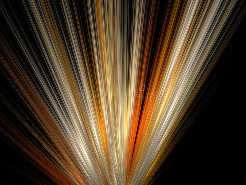 Lichten van energie stock illustratie