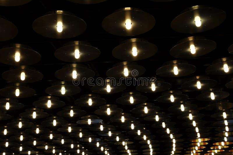 Lichtenachtergronden en texturen royalty-vrije stock foto