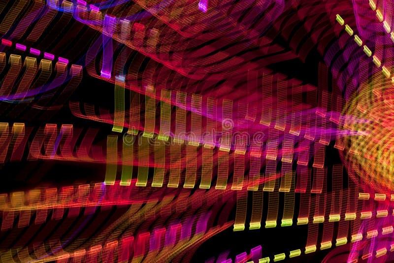 Lichter in der Bewegung lizenzfreies stockfoto