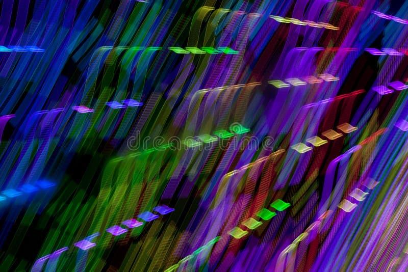 Lichter in der Bewegung stockfoto