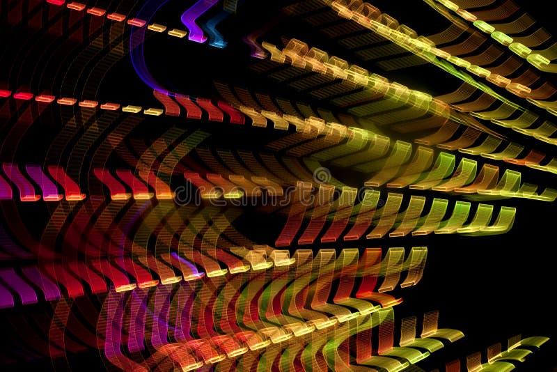 Lichter in der Bewegung stockfotos