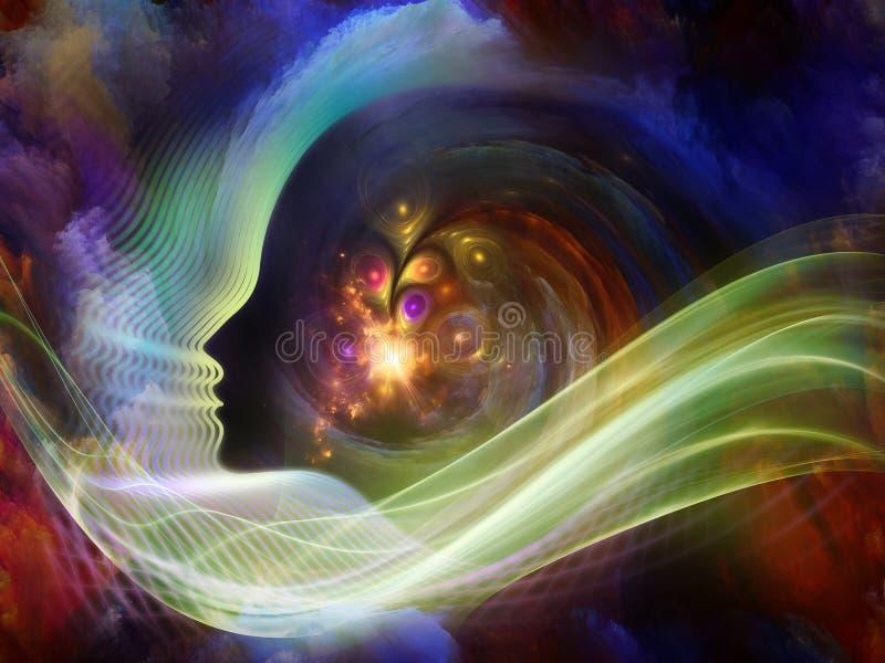 Lichter der Seele lizenzfreie abbildung