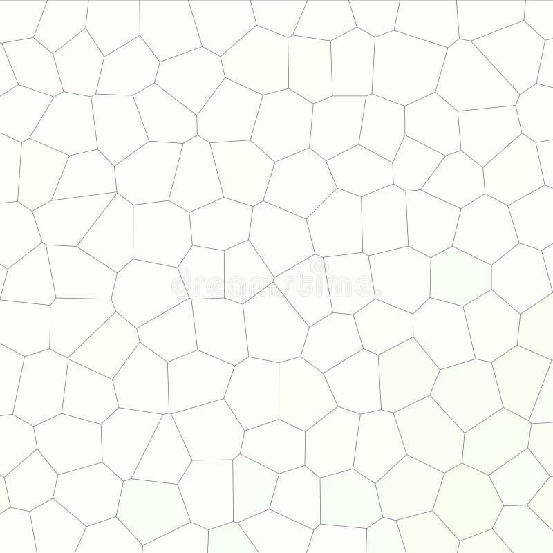 Lichtgrijze pastelkleur weinig hexagon in vierkante vormillustratie als achtergrond vector illustratie