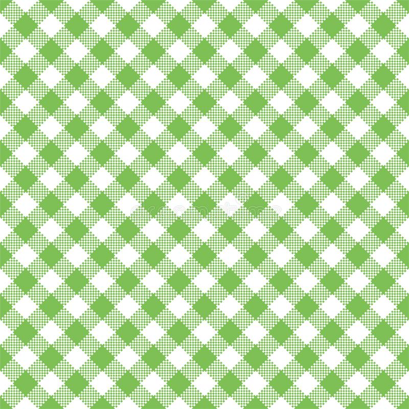 Lichtgroen Gingang Naadloos Patroon stock illustratie
