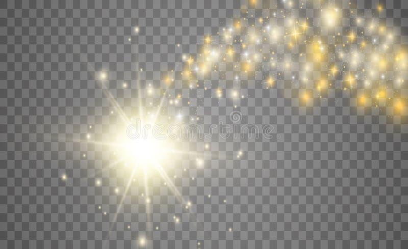 Lichtquellen, Konzertbeleuchtung, Scheinwerfer Konzertscheinwerfer mit Strahl stock abbildung