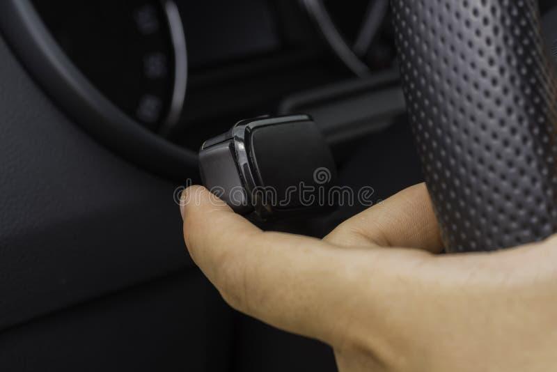 Lichtregelung eines Autos stockfotografie