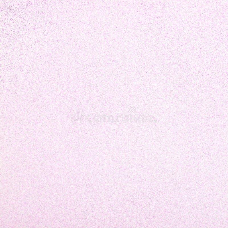 Lichtrose schitter Vierkante Achtergrond die vrij en girly is Kan voor een kaart, een uitnodiging van de babydouche, een verjaard stock foto's