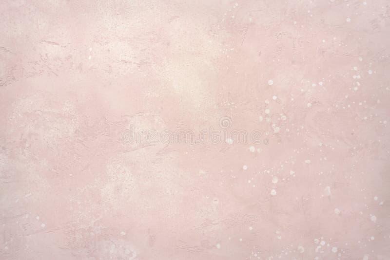 Lichtrose steenmuur of vloer royalty-vrije stock foto